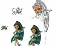 Monster High coloring 2 online