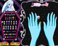 Monster High manicure monsterhigh játékok